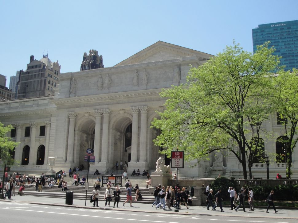 Afternoon Bulletin: Vast Decrease in City Scaffolding, NYPL Fountains Flow Again