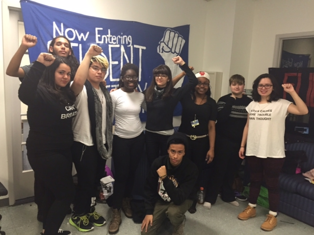 Newark student protest against Anderson continues, teachers union offers support