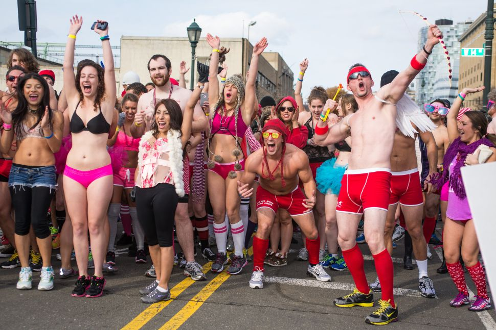 To Do This Weekend: Run in Your Undies and Attend a Valentine's Fair