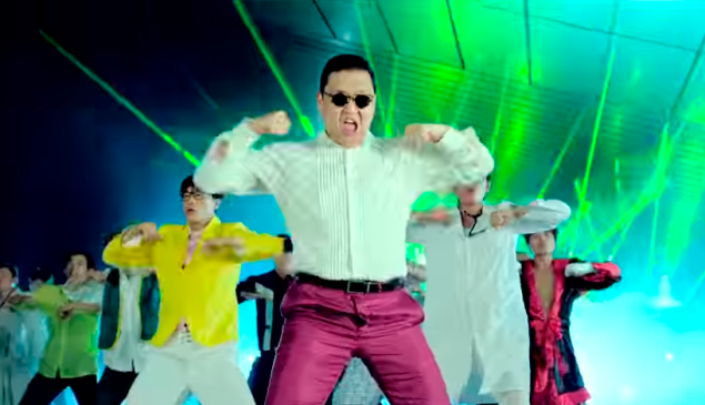 "Psy's ""Gangnam Style"" was the first YouTube video to reach a billion views. (Photo: YouTube)"