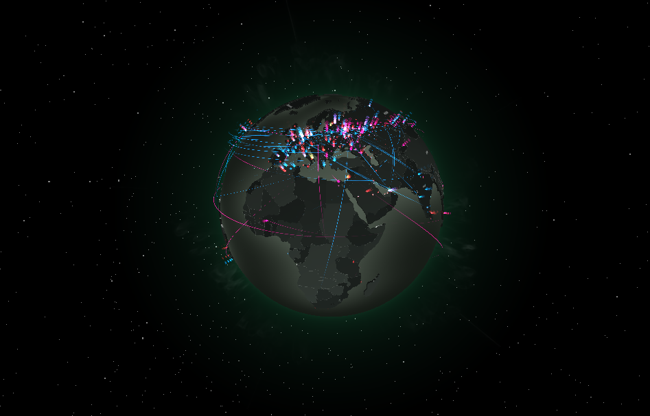 This Is Google Earth, Only For Cyberattacks