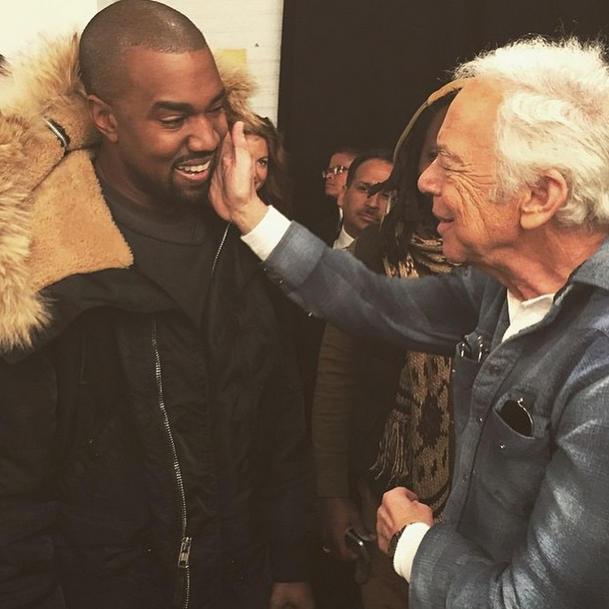 Kanye West's Man-Crush on Ralph Lauren, a History