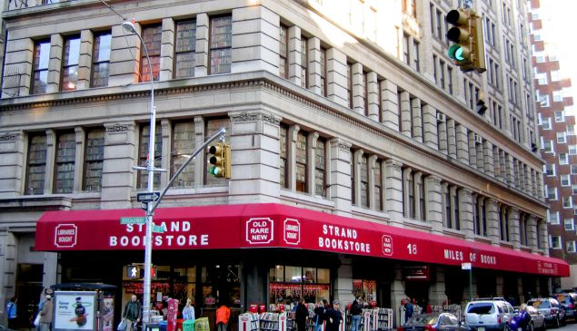 Find your fellow bookworm at the Strand this week (Wikipedia).