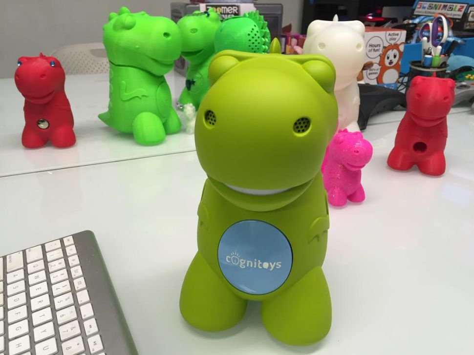 Playtime With the First Toy Powered by IBM Watson