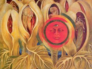 Frida Kahlo,Sun and Life, 1947 (Photo courtesy of Rights Society (ARS), New York)