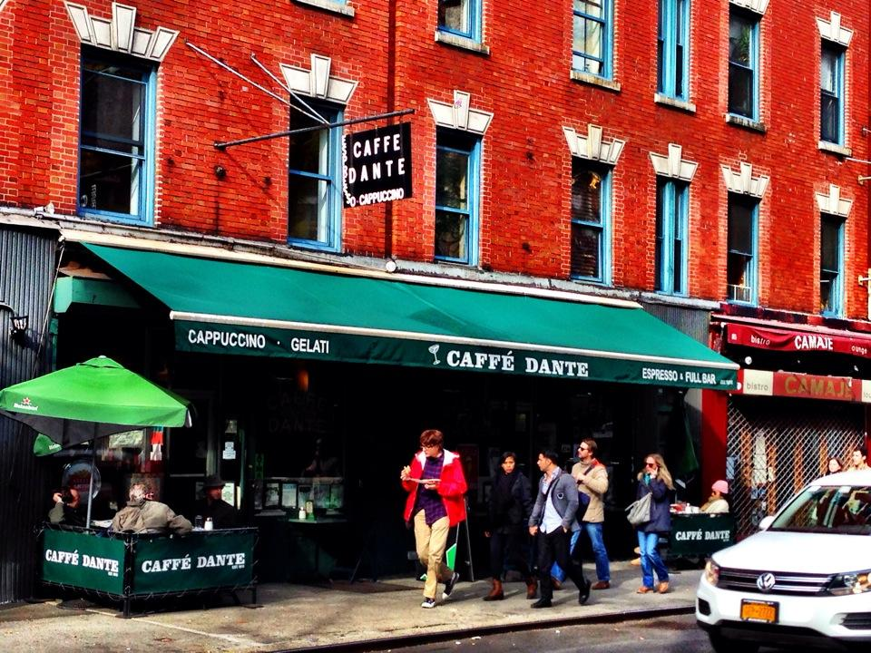 Historic Caffé Dante Shutters Doors After 100 Years