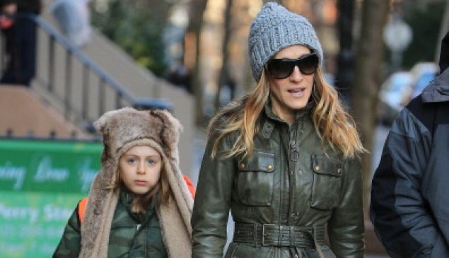 Sarah Jessica Parker with her son James Wilkie Broderick (Jackson Lee/StarMax/FilmMagic)