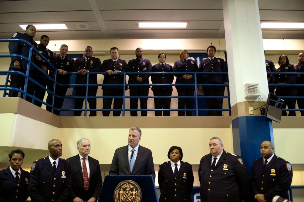 'On the Offensive:' Bill de Blasio Vows Progress at Second Rikers Island Visit
