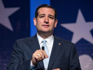 Ted Cruz. (Photo: Andrew Burton/Getty Images)