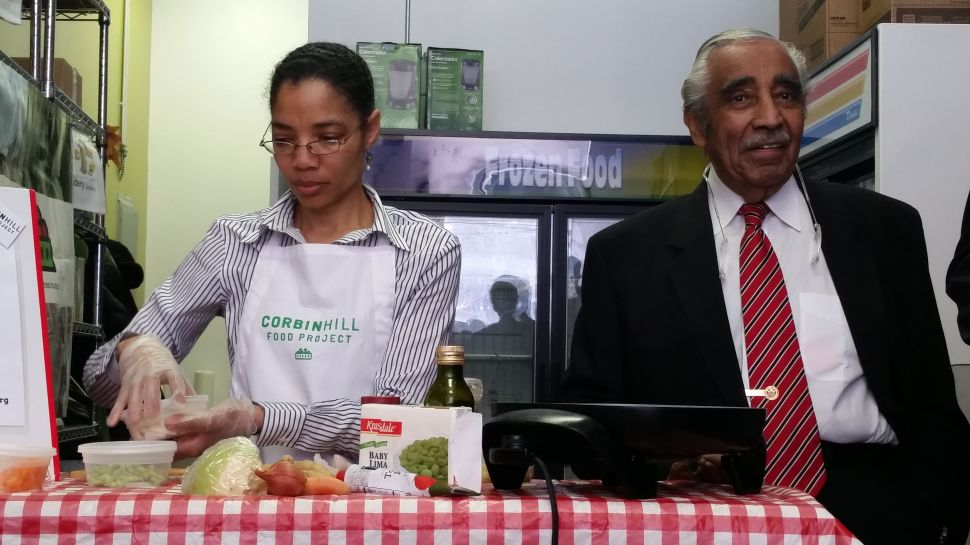 'There Ain't No Pork on My Fork': Charles Rangel Explains His Diet