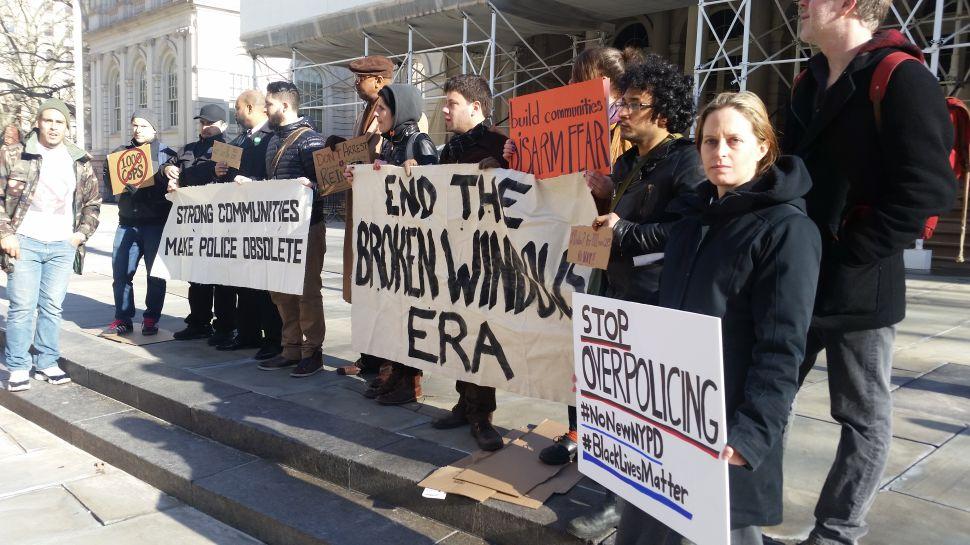 Protesters Repeatedly Interrupt Bill Bratton's City Council Testimony