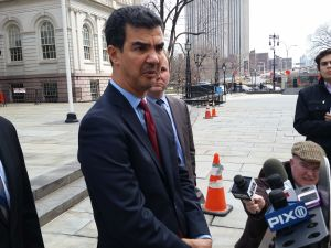Councilman Ydanis Rodriguez today. (Photo: Ross Barkan/New York Observer)
