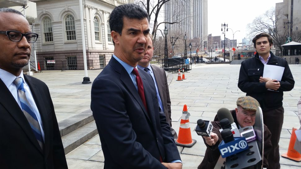 Councilman Arrested at Occupy Wall Street Donates His Settlement Cash
