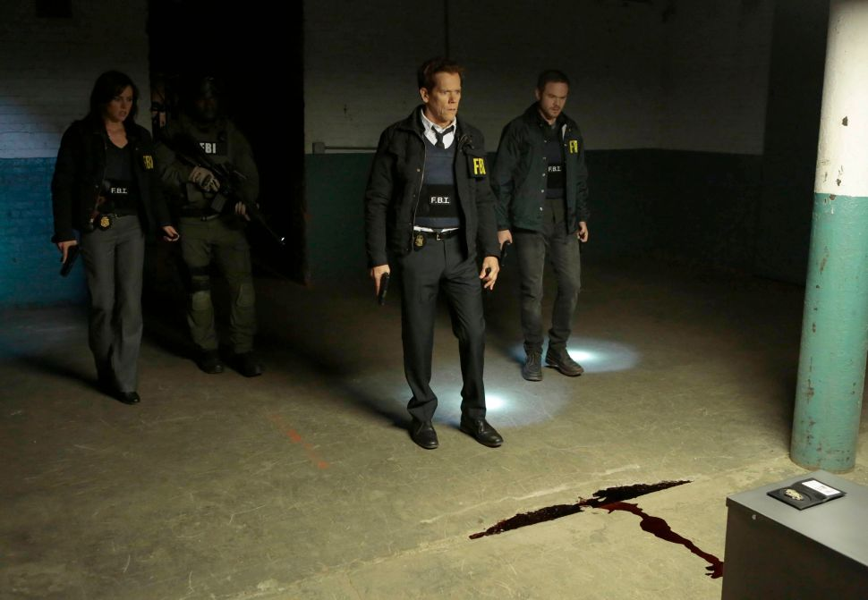 Kevin Bacon Discusses 'The Following,' Ryan Hardy's Love Life, and the Box