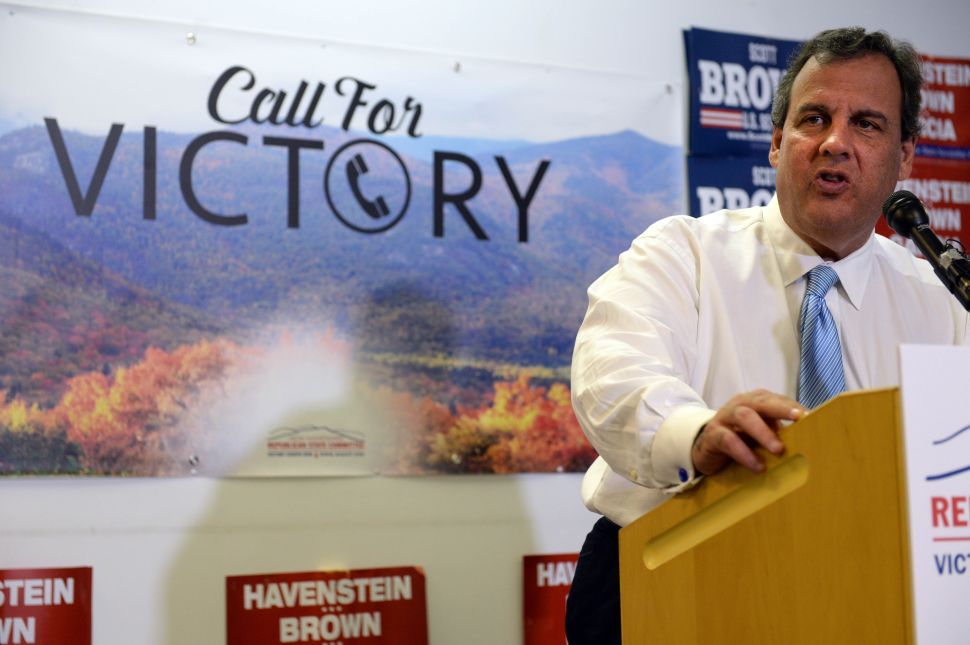 Two Unforced Errors by Chris Christie in New Hampshire