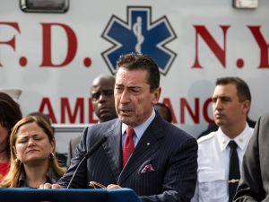 FDNY Commissioner Daniel Nigro (Photo: Andrew Burton/Getty Images).