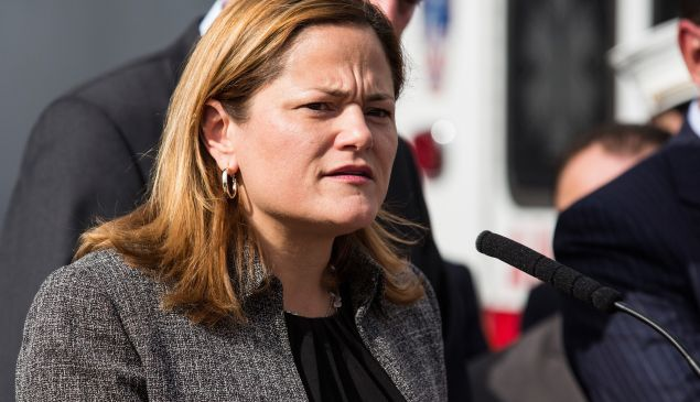 Council Speaker Melissa Mark-Viverito.