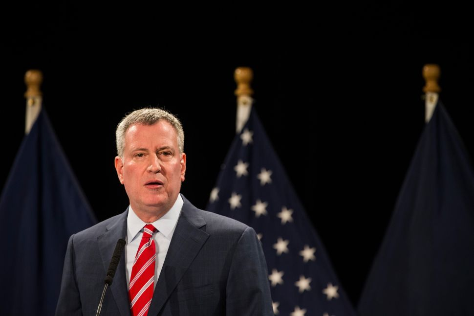 Bill de Blasio Is Upset a Minimum Wage Hike Was Dropped From the State Budget