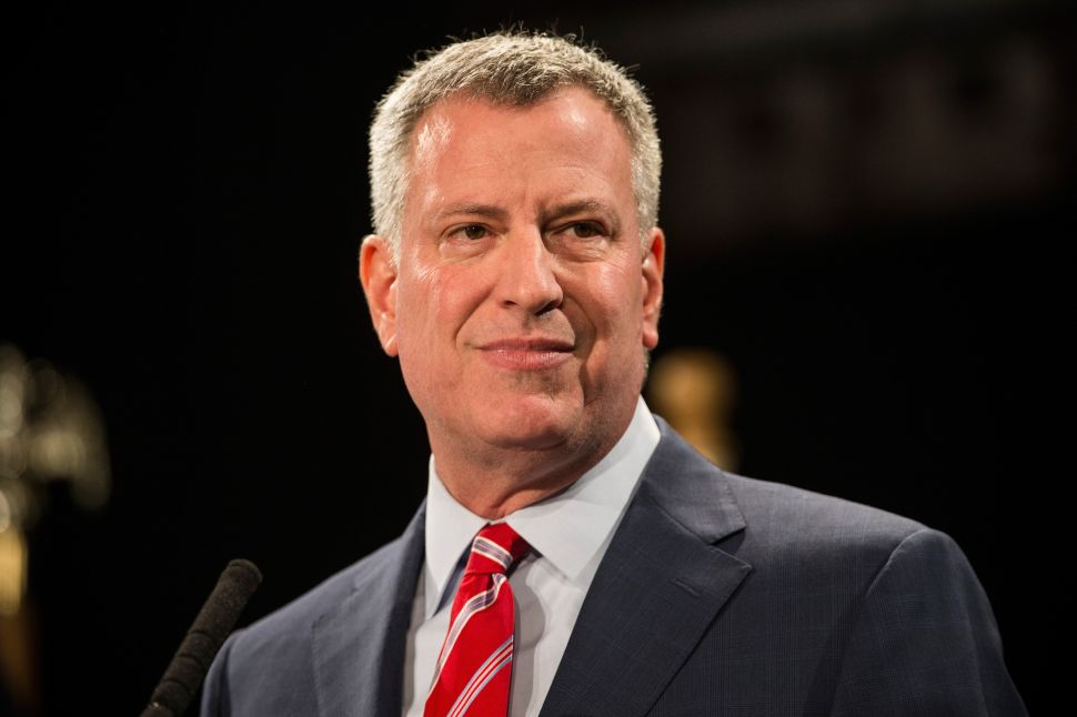 De Blasio Says He Stands in 'Solidarity' With Baltimore Mayor