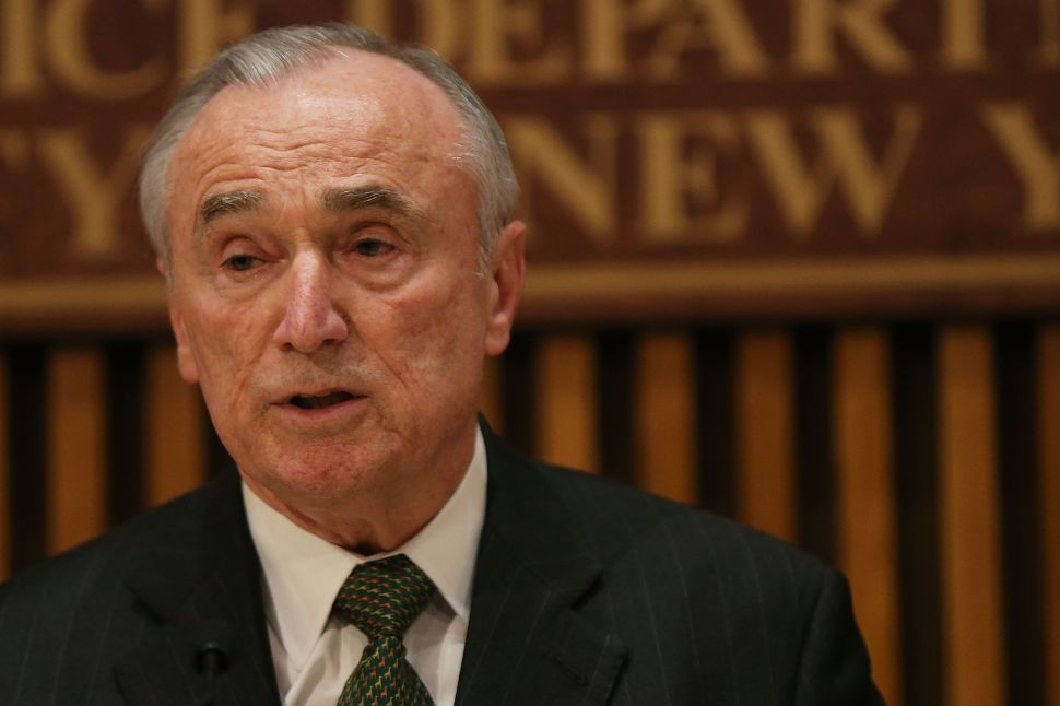 Bill Bratton Calls Protests Against Him 'Actually Entertaining'