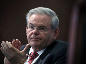 New Jersey Sen. Robert Menendez has been indicted on corruption charges. (Getty Images)