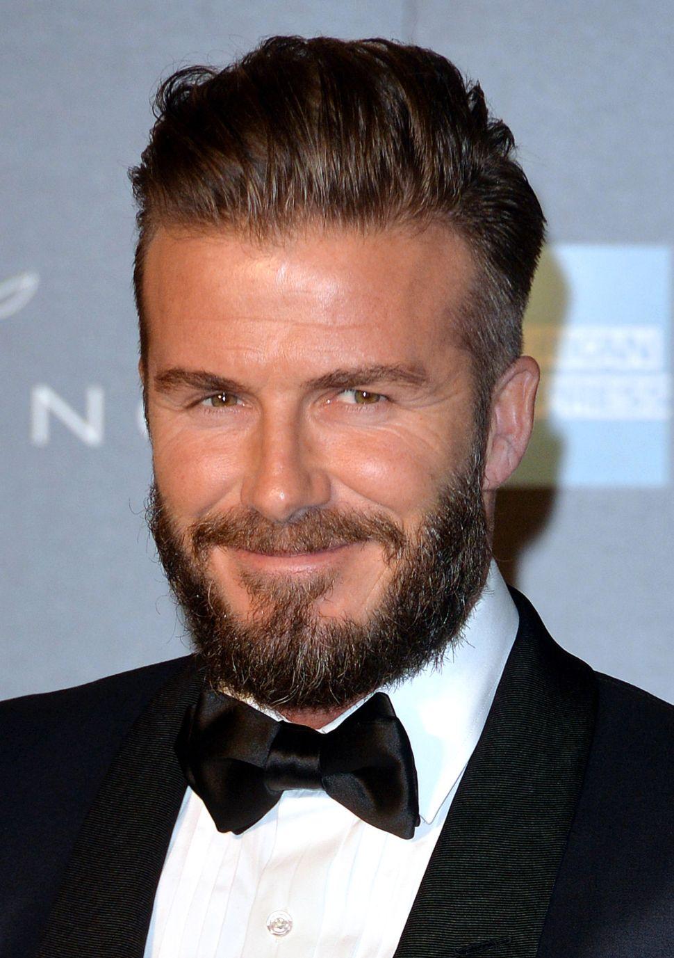 Beards Like Beckham's Are So Over