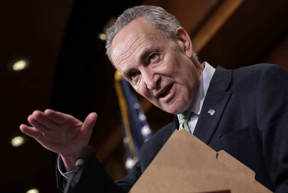 Schumer Says He Will Not Succumb to 'Pressure' or 'Politics' on Iran Deal