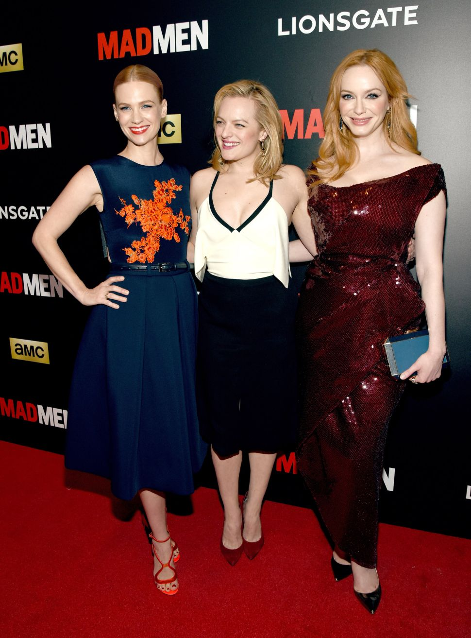 The Ladies of 'Mad Men' Begin Their Final Red Carpet Tour