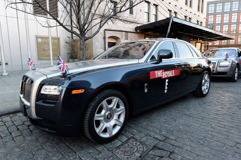E! Drove Me To Work This Morning: What a Ride In a Rolls Royce Taught Me About TV