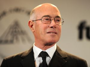 Inductee David Geffen attends the 25th Anniversary Rock & Roll Hall of Fame 2010 induction ceremony at The Waldorf Astoria Hotel on March 15, 2010 in New York City. (Photo by Stephen Lovekin/Getty Images)