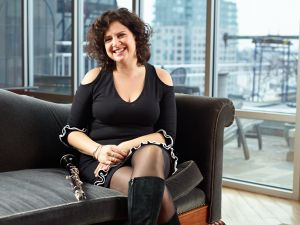 Anat Cohen. (Photo: Rick Wenner/For New York Observer)