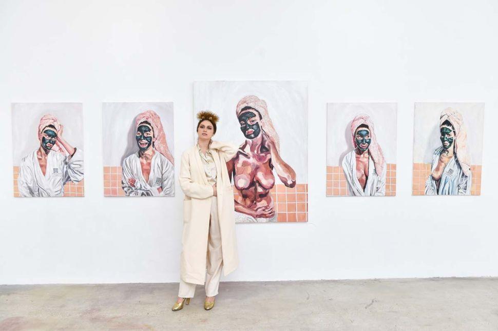 Tali Lennox Reframed: A Rocker's Daughter Leaves Modeling to Take On the Art World