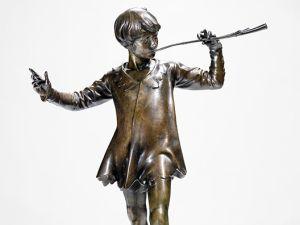 A bronze sculpture of Peter Pan by Sir George Frampton. (Photo: Bonhams)
