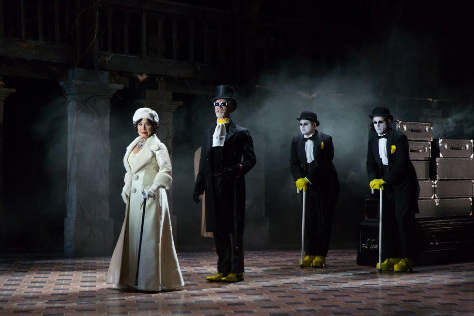 On Broadway, Revenge Is a Dish Best Served by Chita Rivera