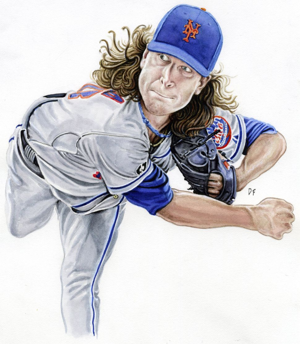 Reigning Rookie of the Year Jacob deGrom Makes His Pitch for Greatness