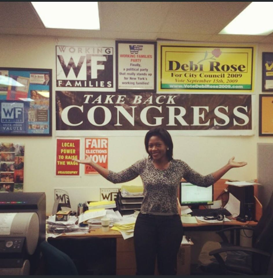 Working Families Party Candidate Diana Richardson Wins Assembly Seat
