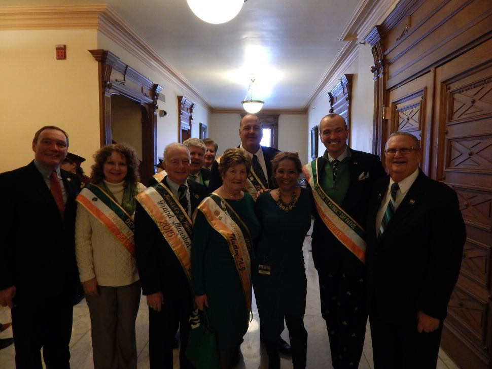 Luck of the Irish comes to Trenton