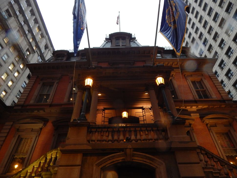 EXCLUSIVE: Staking out Chris Christie at Philly's Union League
