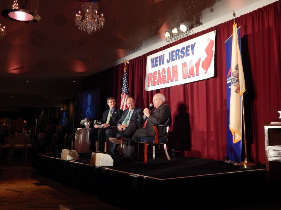 Cheney woos NJ Republicans at annual Reagan Day Dinner