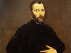 El Greco, <em>Portrait of a Gentleman</em> 1570, oil on canvas. (Photo courtesy CLAE)