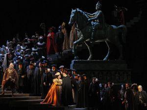 A scene from Verdi's Ernani. (