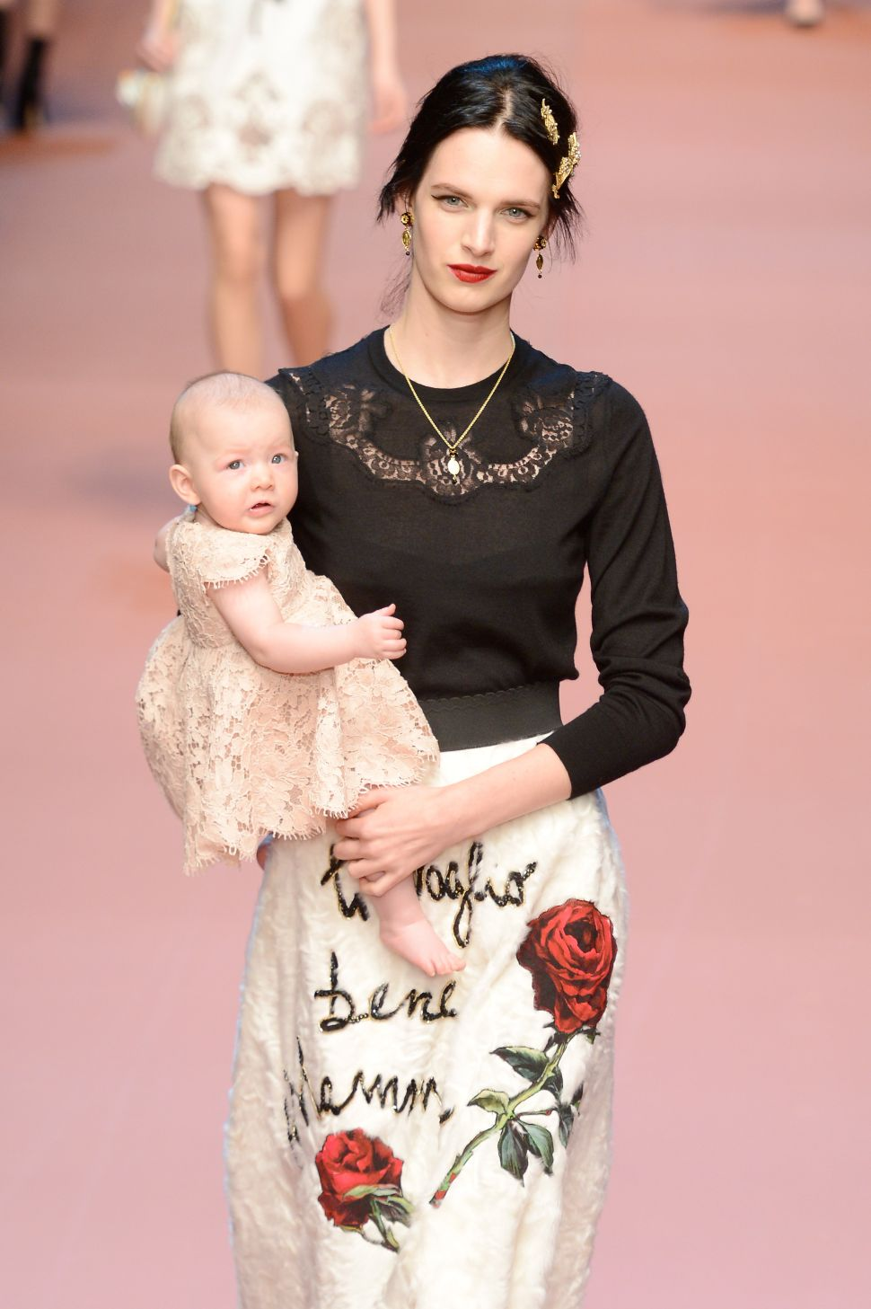 Dolce & Gabbana Celebrate Motherhood & Pregnancy in Their New Collection