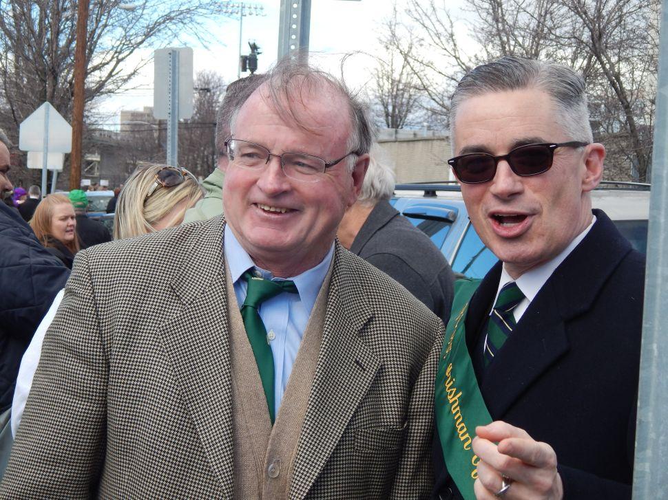 McGreevey to Christie: 'Go with God'