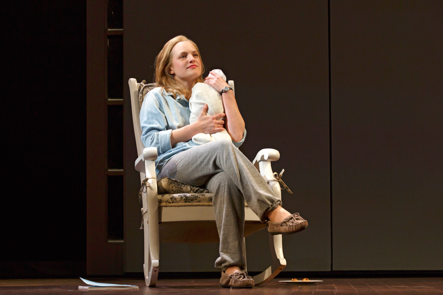 Elisabeth Moss Lends Much-Needed Depth to 'The Heidi Chronicles,' Now Quite Dated