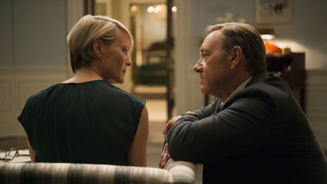 TV's Most Romantic Couple Are the Underwoods From 'House of Cards'