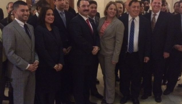 Chaparro, second from left.