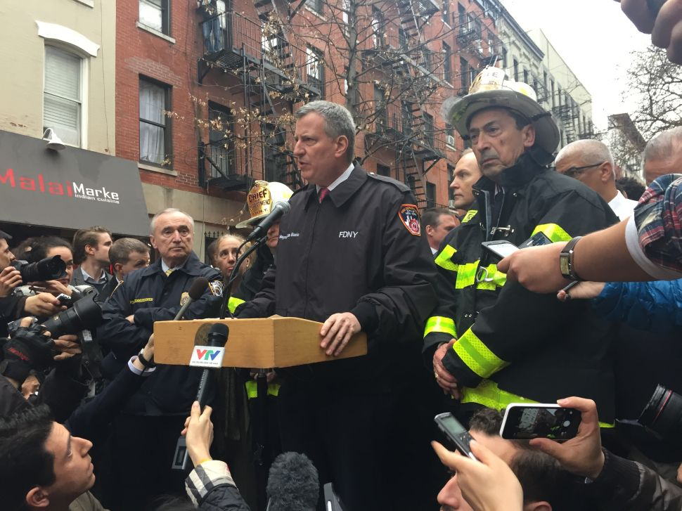 Two Unaccounted for After East Village Explosion, City Officials Say