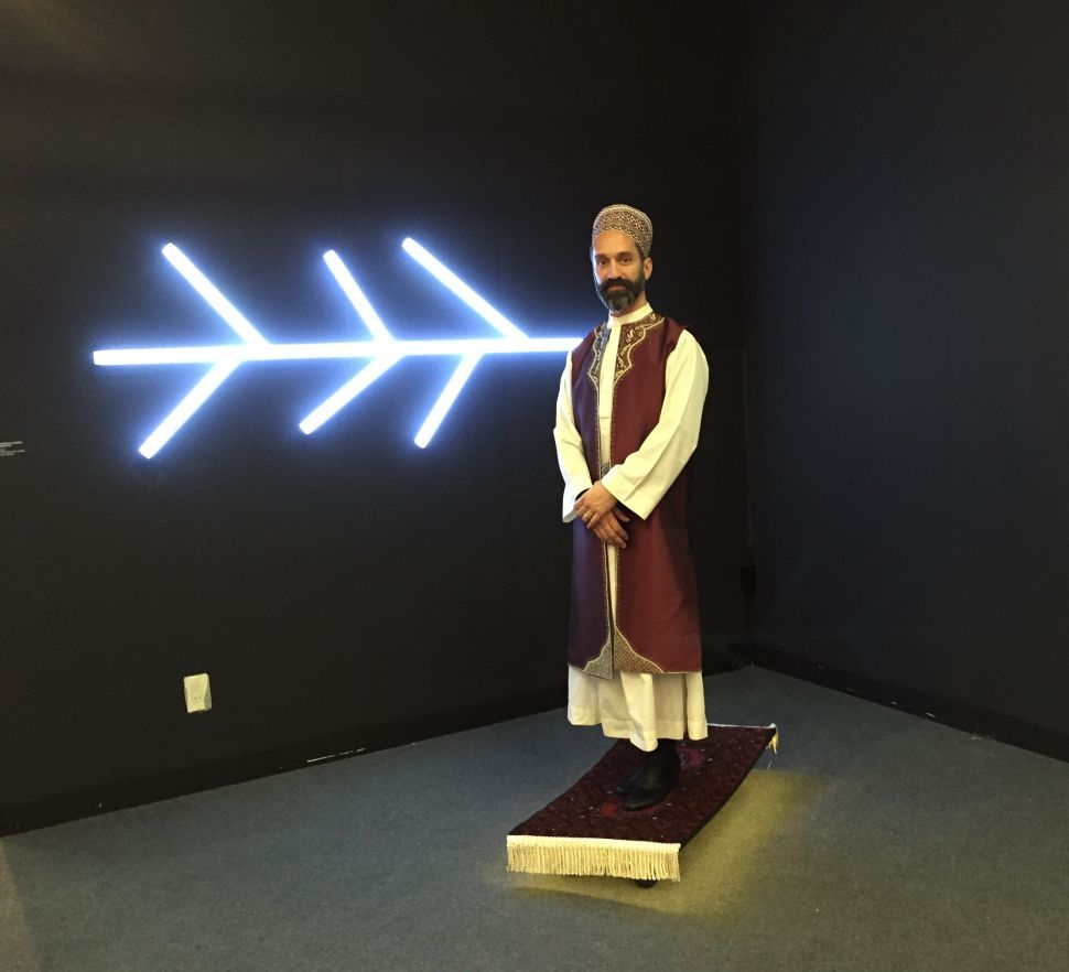 Look Out For a Man on a 'Flying Carpet' at the Armory Show