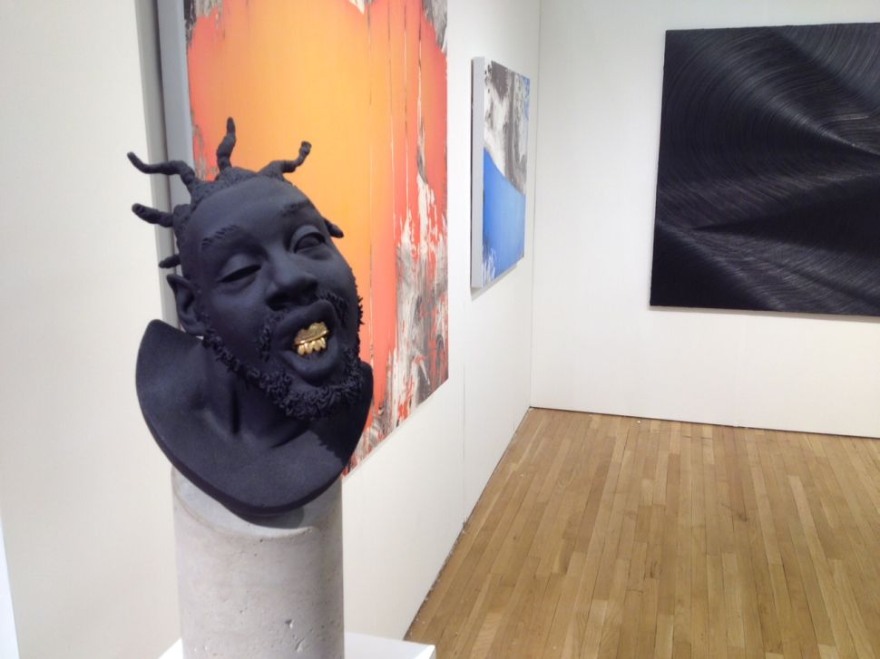 A Bust of Ol' Dirty Bastard Complete With Golden Grill Is a Hit at Pulse New York