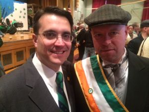 O'Donnell, left.